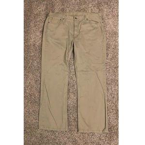Levi khaki jeans